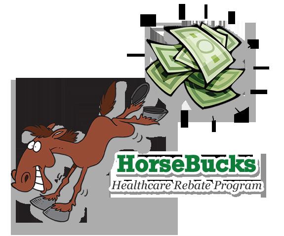 Bucky the HorseBucks Mascot